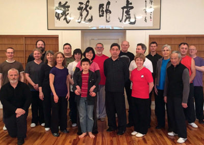 Gary and Sifu at Embracing the Moon in Seattle